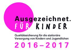 Logo - Ausgezeichnet für Kinder