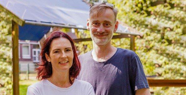 Dr. Marion Kolb und Thomas Schebaum-Stein