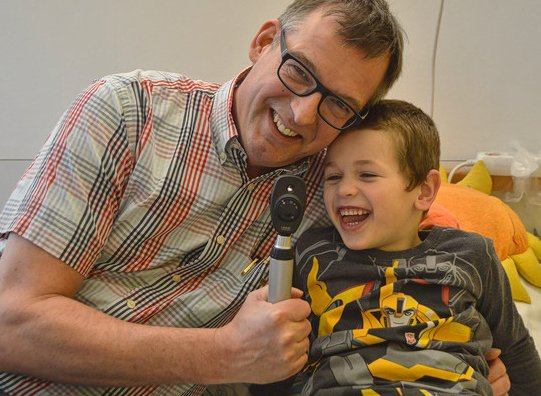 Kinder- und Jugendklinik Dr.Lautner mit Tom