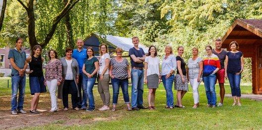 Team der Tagesklink fuer Kinder- und Jugendpsychiatrie