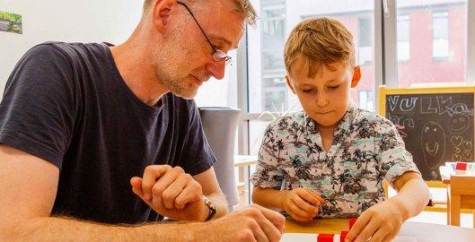 Therapie in der Tagesklink fuer Kinder- und Jugendpsychiatrie